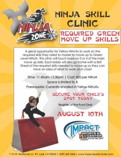 Aug 10th Ninjas
