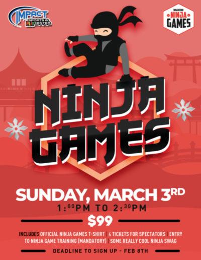 Feb 8th - Ninjas