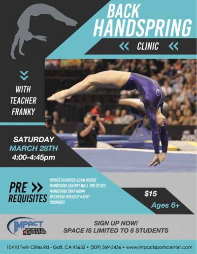 March 2020 - 28 - Back Handspring