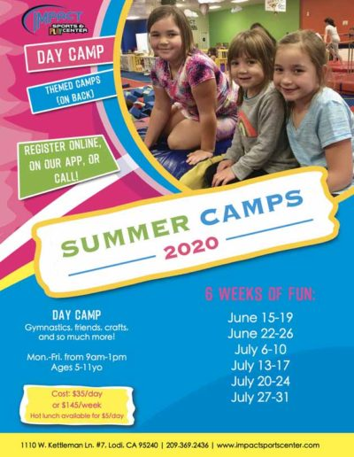 Summer Camps - 2020