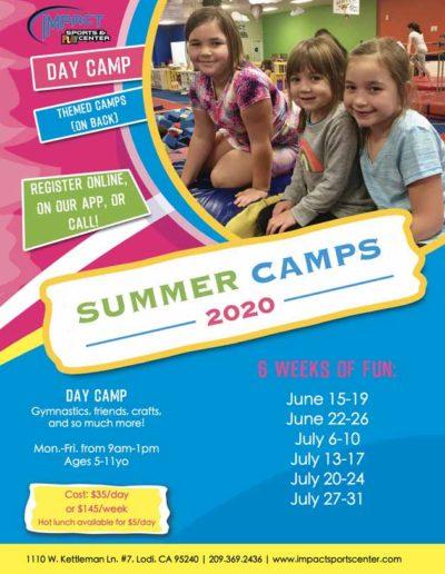 Summer Camps - 2020